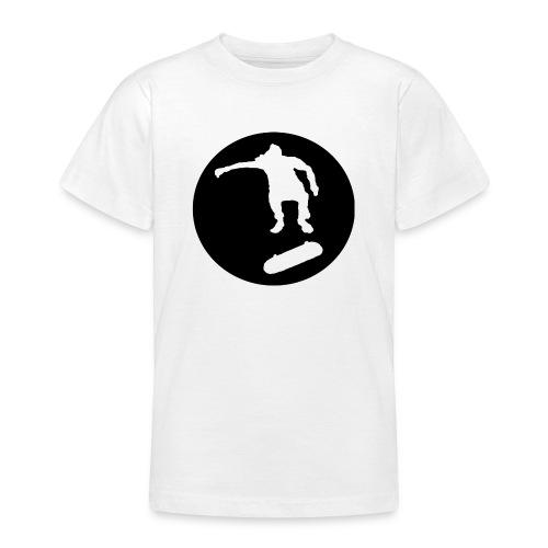 FVHJ Hoodie med logo på ryggen - Teenager-T-shirt