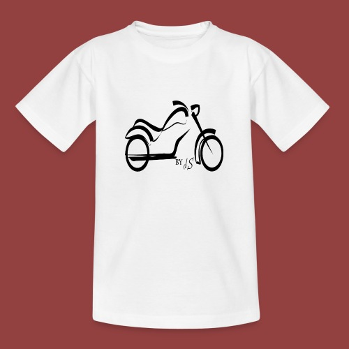 moto - Camiseta adolescente