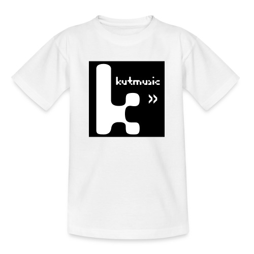 Kutmusic black - Maglietta per ragazzi