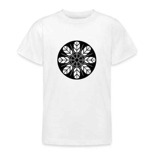 Inoue clan kamon in black - Teenage T-Shirt