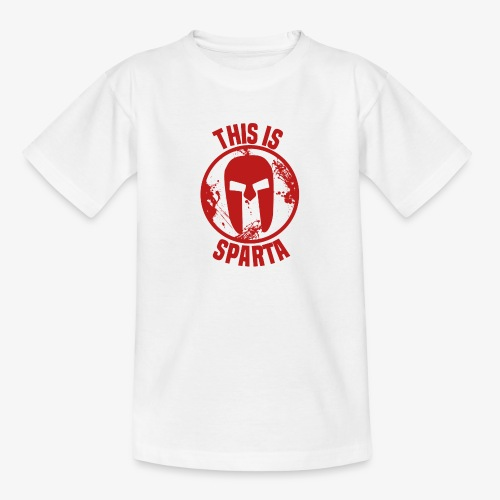 this is sparta - Teenage T-Shirt