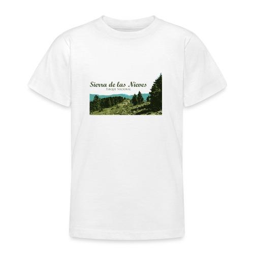 Sierra de las Nieves Parque Nacional - Camiseta adolescente