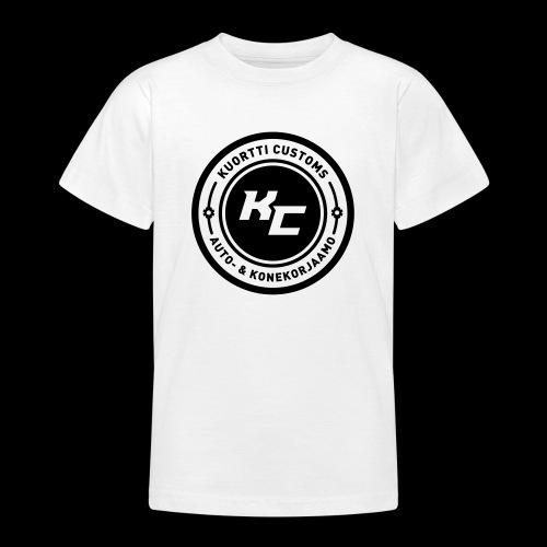kc_tunnus_2vari - Nuorten t-paita