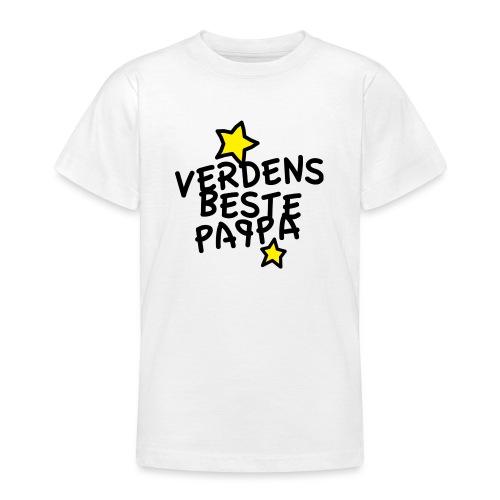 Verdens beste pappa - T-skjorte for tenåringer