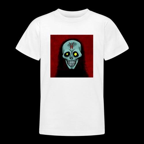 Ghost skull - Teenage T-Shirt