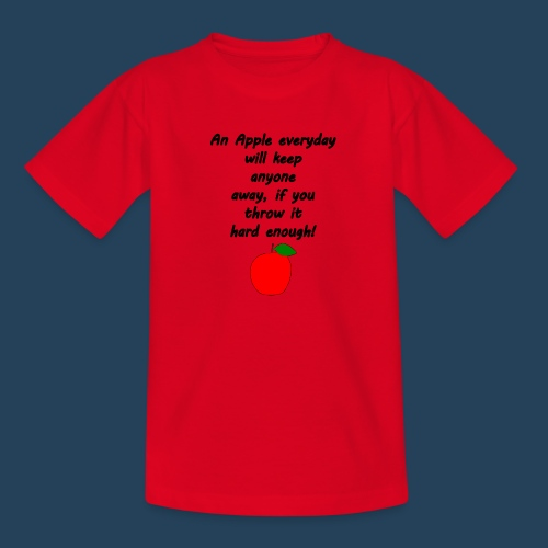 Apple Doctor - Teenager T-Shirt