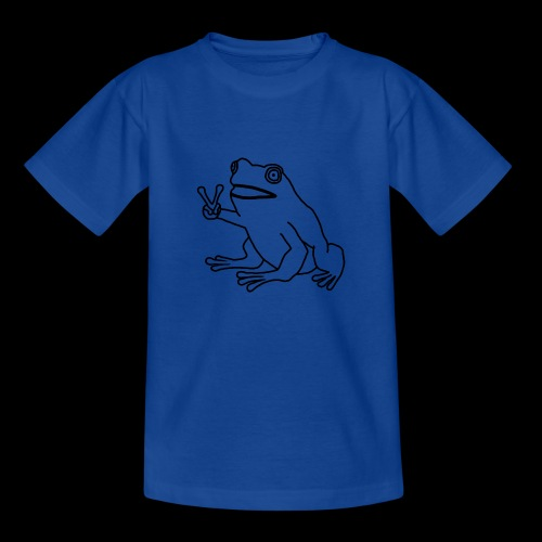 Funny Animal Frog Frosch - Teenager T-Shirt
