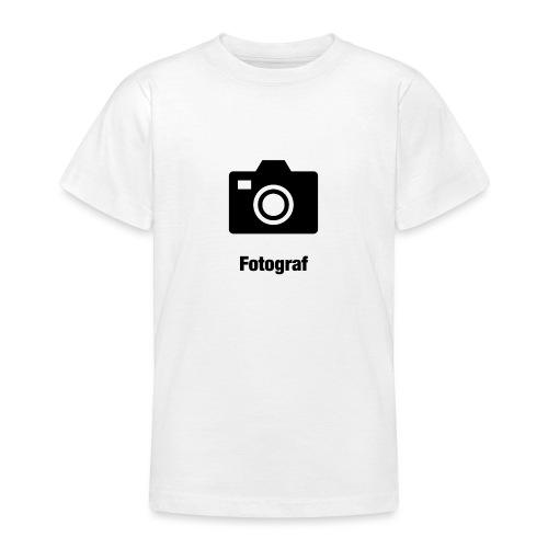 Fotograf - Teenager T-Shirt