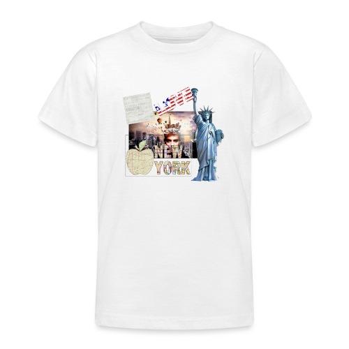 Love New York - Teenager T-Shirt