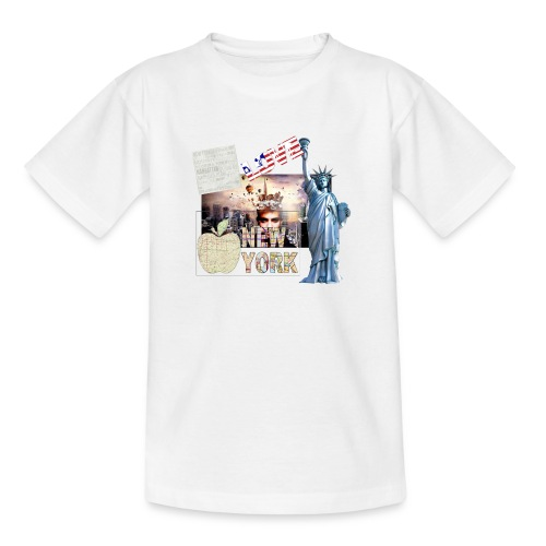 Love New York - Teenager T-Shirt