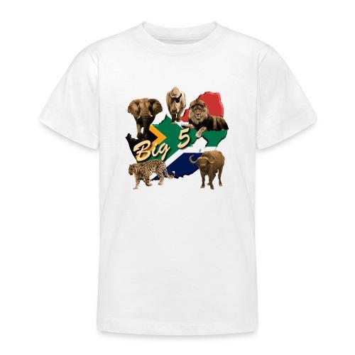 Big 5 - Südafrika Safari - Teenager T-Shirt