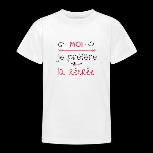 Tee-shirt rentrée des classes - T-shirt Ado