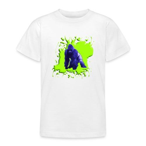 Blue Green Gorilla - Teenager T-Shirt
