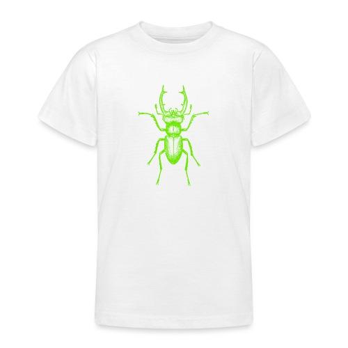 Grüner Hirschkäfer - Teenager T-Shirt