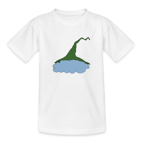Green Witch hat at Cloud - Teenager T-Shirt
