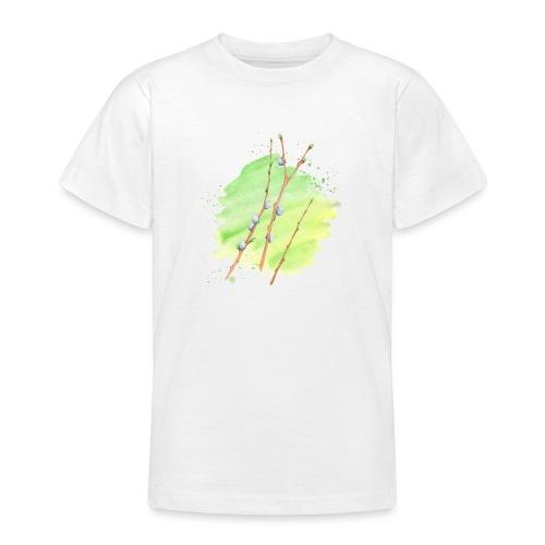 Weidenkätzchen - Teenager T-Shirt