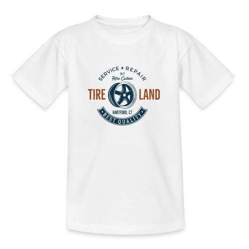 Tire Land - Teenager T-Shirt