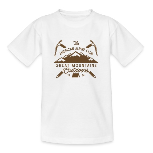 American Alpine Club - Teenager T-Shirt