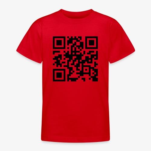 QR Code - Teenage T-Shirt