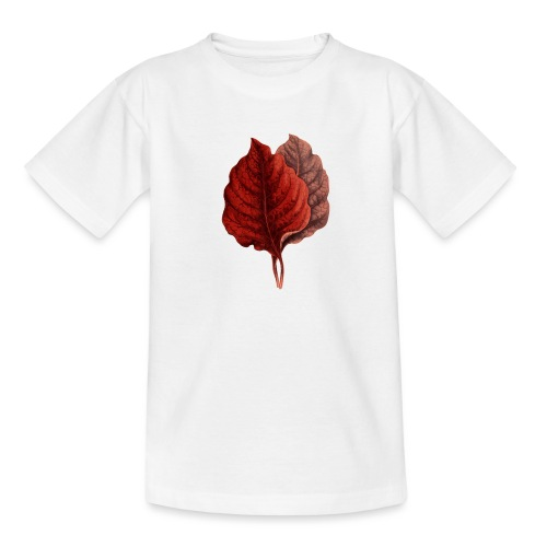 Rote Blaetter - Teenager T-Shirt