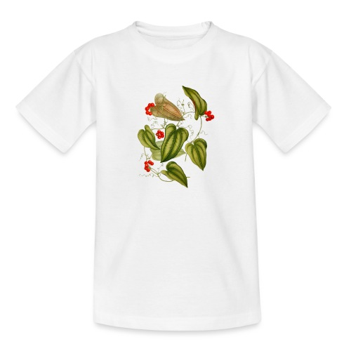 Ranke mit roten Beeren - Teenager T-Shirt
