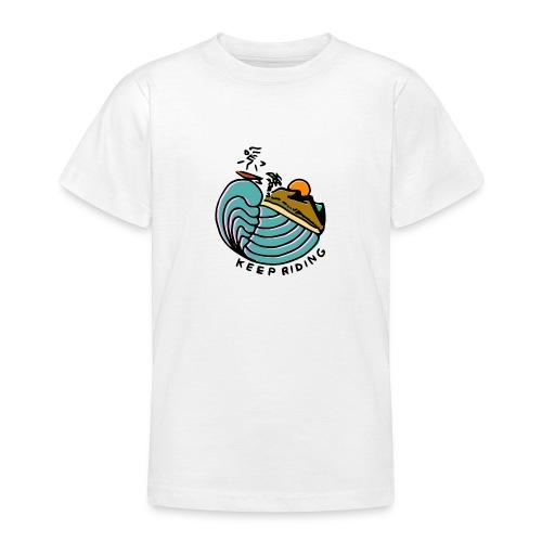 Surfeur au Couchant - T-shirt Ado