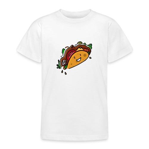 Glücklicher Taco - Teenager T-Shirt