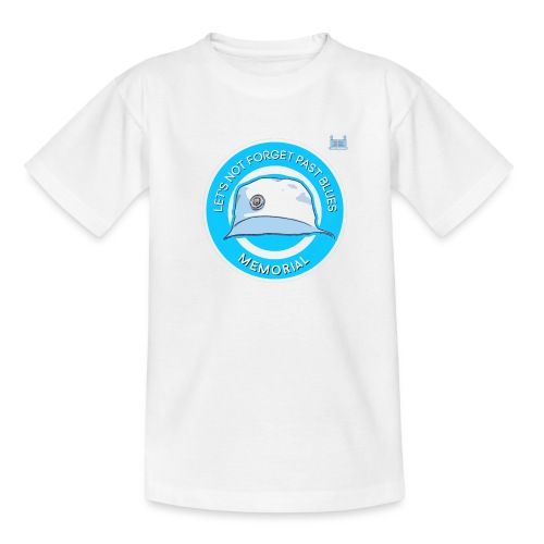 Let's Not Forget Past Blue's - Teenage T-Shirt