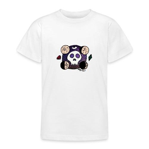 Crâne Lune des confins de l'Espace - Teenager T-Shirt