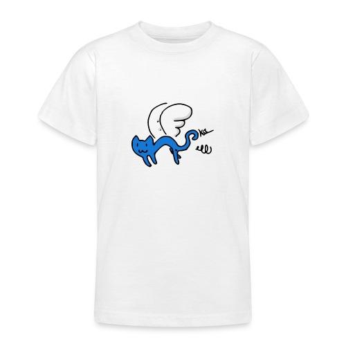 Fliegendes Kätzchen - Teenager T-Shirt