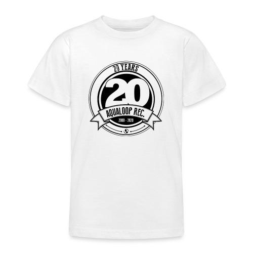 20Y Aqualoop Records - Teenage T-Shirt