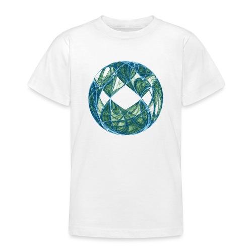 Harmonie im Ozean der Elemente 446oce - Teenager T-Shirt