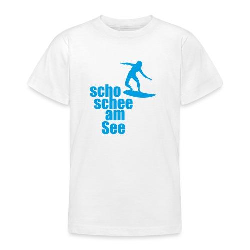 scho schee am See Surfer 04 - Teenager T-Shirt