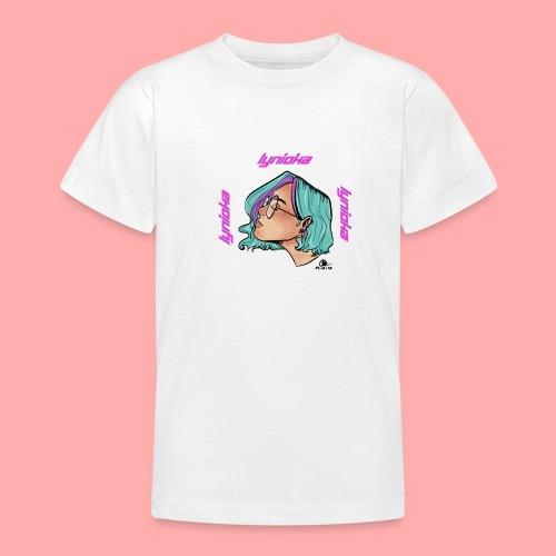 Lynioka Purple Up - T-shirt Ado