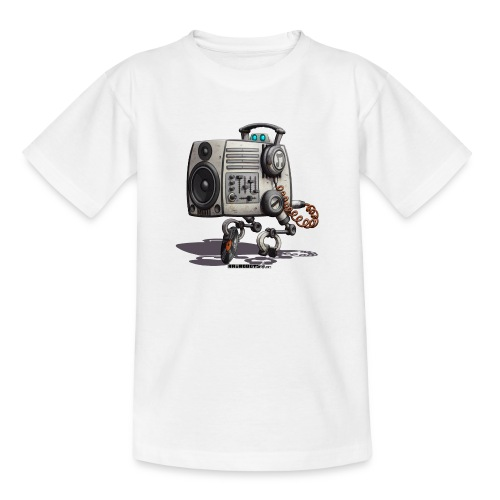 The S.O.U.N.D. Robot! - Teenager-T-shirt