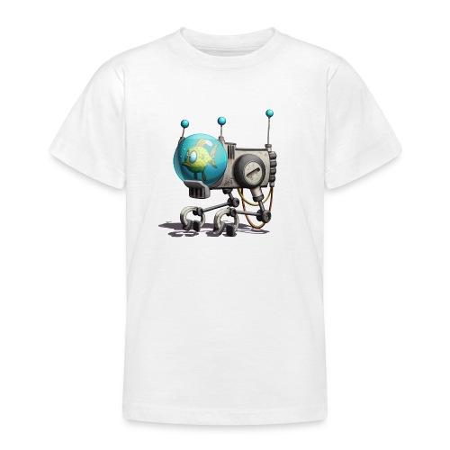 The B.U.B.B.L.E. Robot! - Teenager-T-shirt