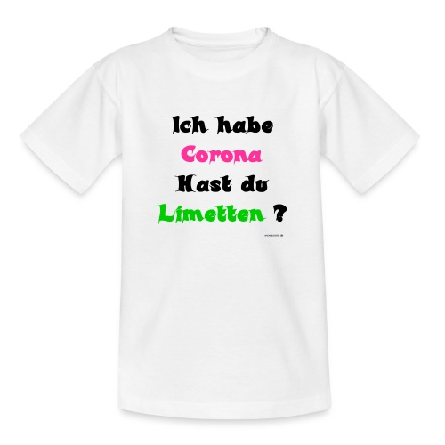 Corona Limetten - Teenager T-Shirt