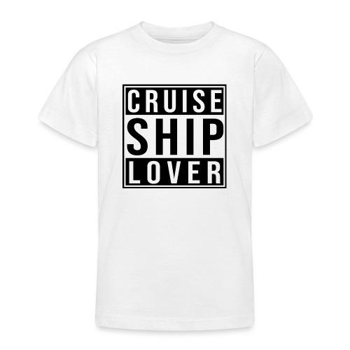 Kreuzfluenzer - Cruise Ship Lover - Teenager T-Shirt
