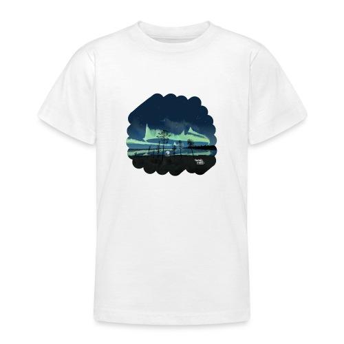 Reflet des aurores boréales - T-shirt Ado