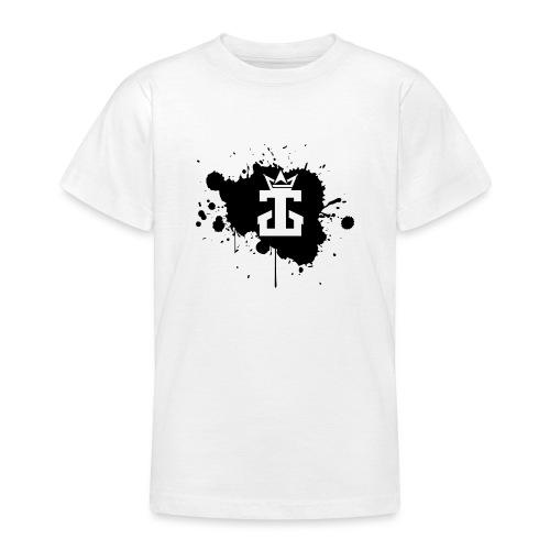 Jamie Gos Logo Splatter - Teenage T-Shirt