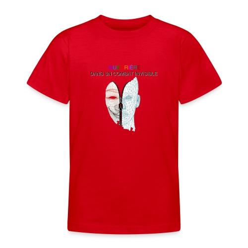 Guerrière dans un combat invisible 02 - T-shirt Ado