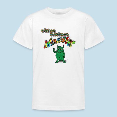 Süßes kleines Monster - Teenager T-Shirt