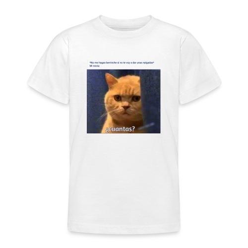 Cat nalgadas - Camiseta adolescente