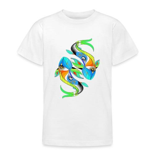Regenbogenfische - Teenager T-Shirt
