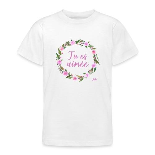 COURONNE4TUesaimeeb - T-shirt Ado
