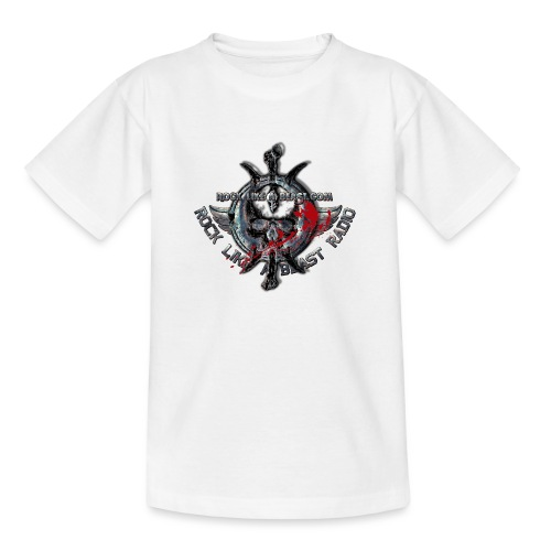 Blood Skull Logo - T-shirt tonåring