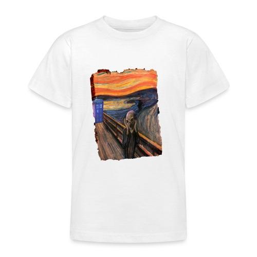 Screaming Tardis - Teenage T-Shirt