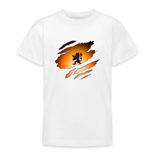 Dutch Inside: Leeuw - Teenager T-shirt