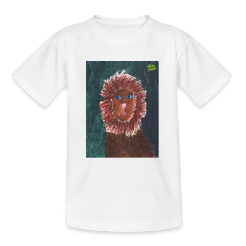Lion T-Shirt By Isla - Teenage T-Shirt