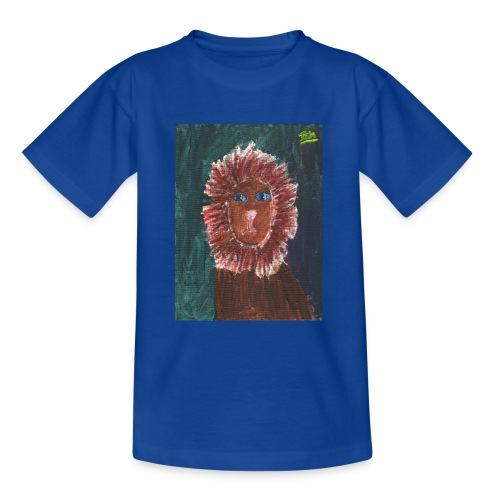 Lion T-Shirt By Isla - Teenage T-Shirt